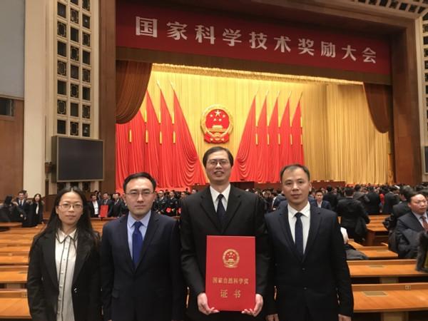 南京理工大学支部会员徐胜元荣获2019年度国家自然科学二等奖