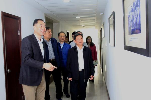 民进中央副主席高友东来苏开展机关建设工作调研